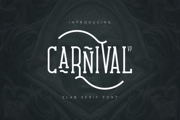 Print on Demand: Carnival Slab Serif Font By vladfedotovv