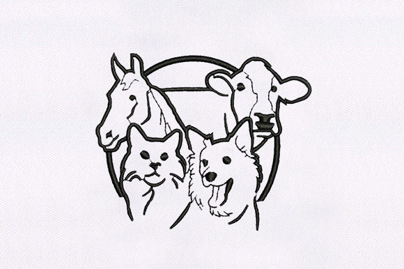 Cute Animal Machine Design Animals Embroidery Design By DigitEMB
