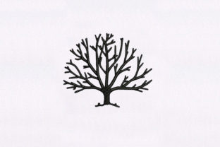Delightful Tree Forest & Trees Embroidery Design By DigitEMB
