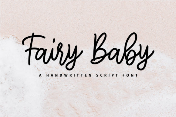 Print on Demand: Fairy Baby Script & Handwritten Font By Typia Nesia