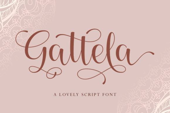 Print on Demand: Gattela Script & Handwritten Font By Skinny type