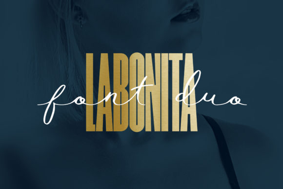 Print on Demand: LaBonita Sans Serif Fuente Por NREY