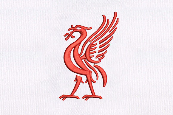 Liver Bird Machine Design Birds Embroidery Design By DigitEMB
