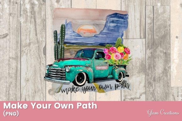 Make Your Own Path Graphic Crafts By Glam Creations