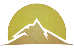Mountain and Sun Landscape Hobbies & Sports Embroidery Design By Digital Creations Art Studio
