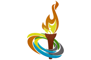 Olympics Torch Hobbies & Sports Embroidery Design By Digital Creations Art Studio