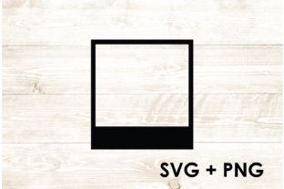 Print on Demand: Picture Frame Instant Film SVG Graphic Print Templates By Too Sweet Inc