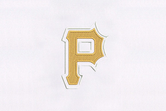 Pirates Logo Pirates Embroidery Design By DigitEMB