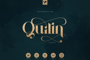 Print on Demand: Quilin Serif Font By vladfedotovv