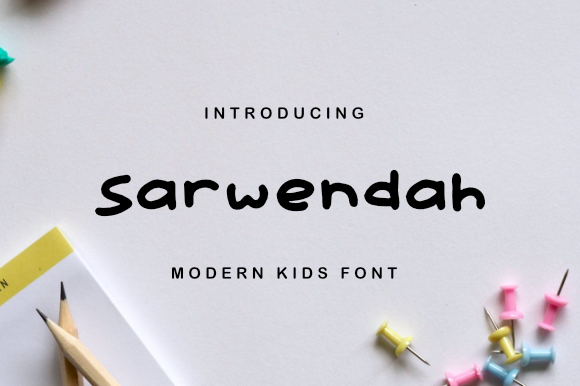 Print on Demand: Sarwendah Script & Handwritten Font By Masyafi Creative Studio