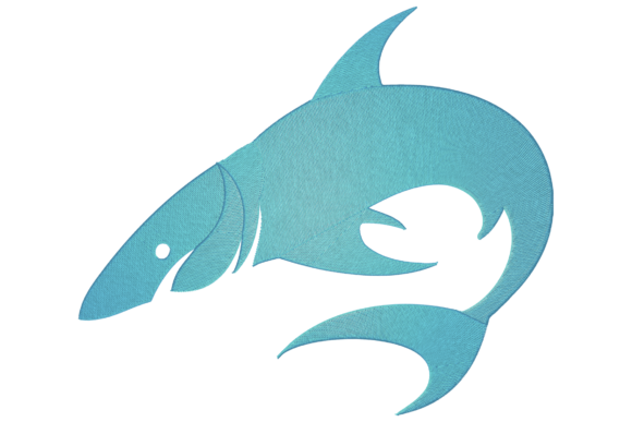 Shark Animals Embroidery Design By Digital Creations Art Studio