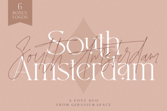 Print on Demand: South Amsterdam Serif Font By Geranium.co