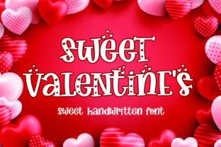 Print on Demand: Sweet Valentine's Display Font By Mozarella