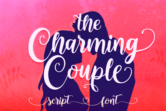 The Charming Couple Font Image