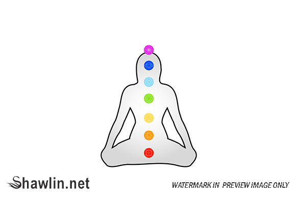 The Seven Chakras Graphic Illustrations By shawlin