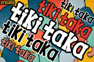 Print on Demand: Tiki Taka Duo Serif Font By edwar.sp111