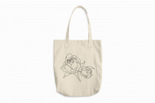 Print on Demand: Two Rose Buds Wedding Flowers Embroidery Design By EmbArt 3