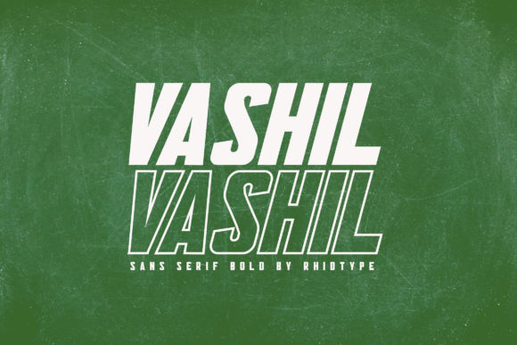 Print on Demand: Vashil Sans Serif Font By RHIDTYPE