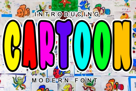 Print on Demand: Cartoon Display Font By ABBAsalam