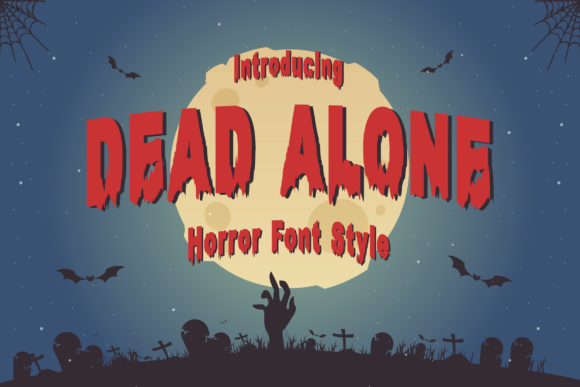 Print on Demand: Dead Alone Display Font By TypeFactory