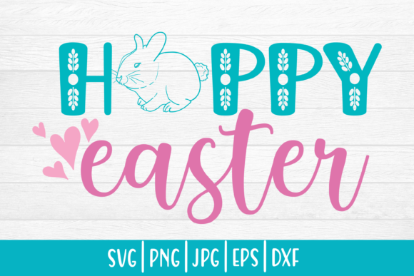 Print on Demand: Easter Svg| Happy Easter Graphic Crafts By inlovewithkats