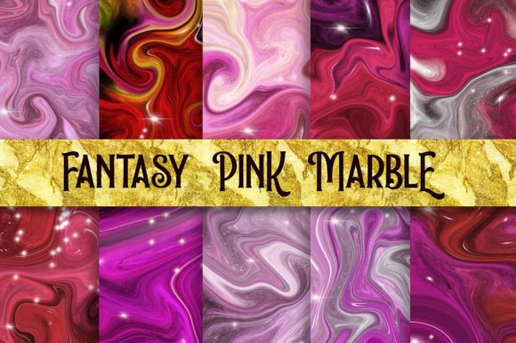 Fantasy Pink Marble Background Graphic Backgrounds By PinkPearly