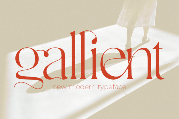 Print on Demand: Gallient Serif Font By DYSA Studio