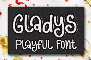 Print on Demand: Gladys Display Font By Sulthan Studio
