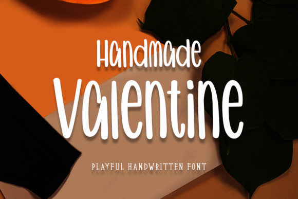 Print on Demand: Handmade Valentine Script & Handwritten Font By Inermedia STUDIO