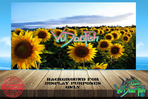 Hello Sunflowers Tumbler Wrap Background Graphic Print Templates By vudoofish