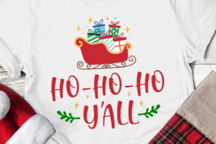 Ho Ho Ho Y'all Svg Graphic Crafts By kaoticsvgdesigns