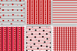 Print on Demand: Love Seamless Pattern Digital Papers Graphic Patterns By PinkPearly 3