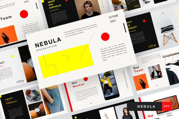 Nebula Tamplate Graphic Presentation Templates By typehome.std