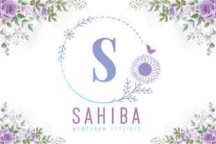 Print on Demand: Sahiba Decorative Font By Kelik - 7NTypes