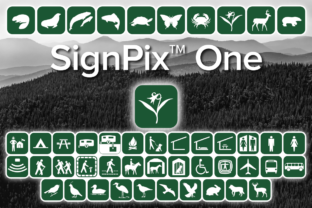 Print on Demand: SignPix One Dingbats Font By Harris Design