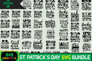 Print on Demand: St Patrick's Day SVG Bundle Graphic Crafts By BDB_Graphics