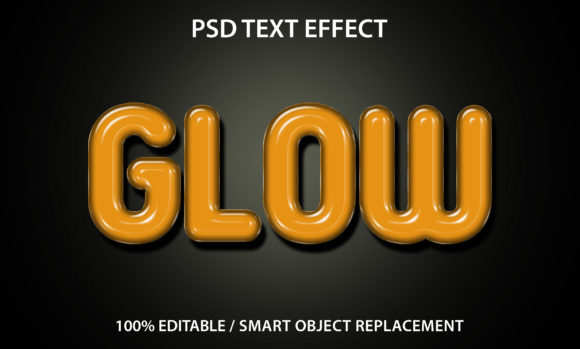 Text Effect 3d Glow Premium Graphic Graphic Templates By yosiduck