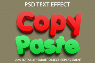Text Effect Copy Paste Premium Graphic Graphic Templates By yosiduck
