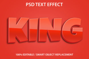 Text Effect King Premium Graphic Graphic Templates By yosiduck