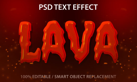 Text Effect Lava Premium Graphic Graphic Templates By yosiduck