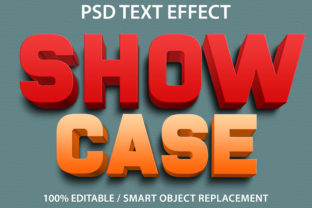 Text Effect Showcase Premium Graphic Graphic Templates By yosiduck