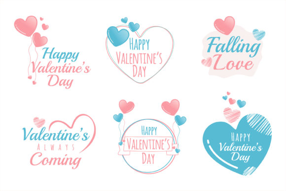 Print on Demand: Valentine Love Quotes for Printing Gráfico Ilustraciones Por edywiyonopp