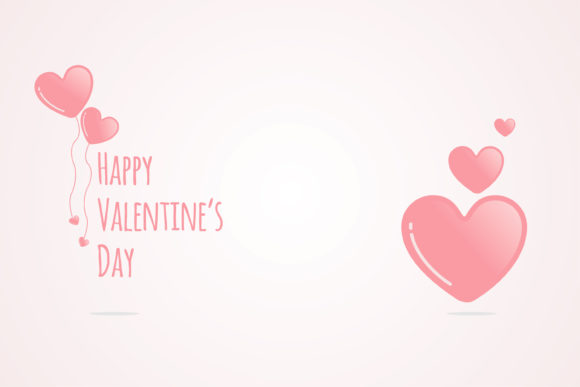 Print on Demand: Valentine Sweety Loving Background Graphic Illustrations By edywiyonopp