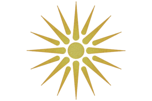 Print on Demand: Vergina Sun Summer Embroidery Design By embroidery dp 1