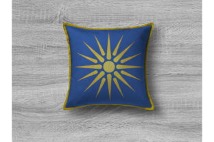 Print on Demand: Vergina Sun Summer Embroidery Design By embroidery dp 4