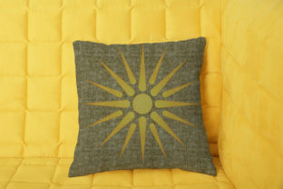 Print on Demand: Vergina Sun Summer Embroidery Design By embroidery dp 5