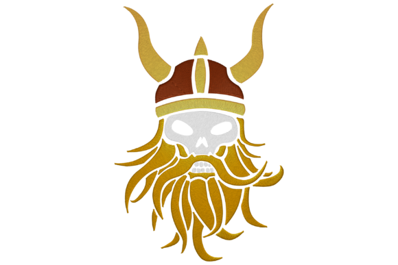 Viking Military Embroidery Design By Digital Creations Art Studio
