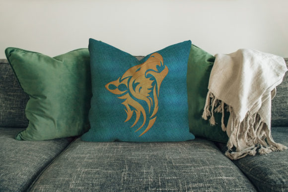 Wolf Embroidery Download