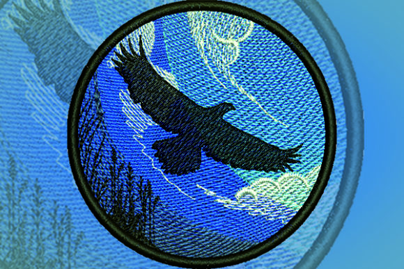 Eagle Patch Embroidery