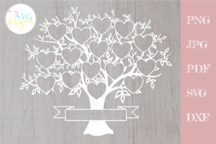 Family Tree Svg 16 Members, Reunion Svg Graphic Crafts By MySVGDesigns